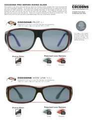 Cocoons Sizing Pro Series.ai - Cocoons Eyewear