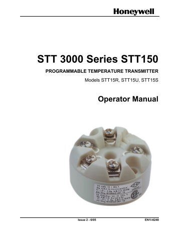 STT 3000 Series STT150 PROGRAMMABLE ... - Merkantile