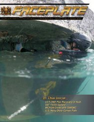 October 2010 - Supervisor of Salvage and Diving