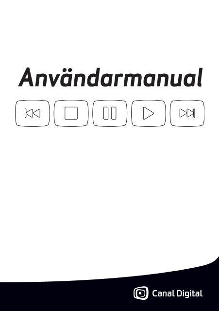 Ladda ner manual - Canal Digital