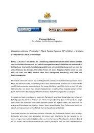 Caseking exklusiv: Prolimatech Black Series Genesis CPU-Kühler ...