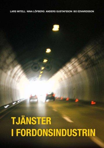 TJÄNSTER I FORDONSINDUSTRIN - Karlstads universitet