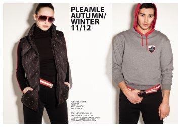 PLEAMLE AUTUMN/ WINTER 11/12 - allgaeulilie