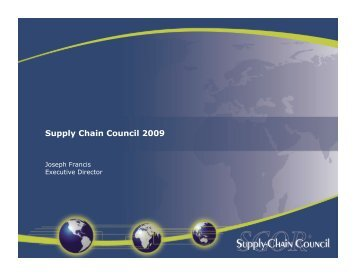 Regional Events - Supply Chain Council