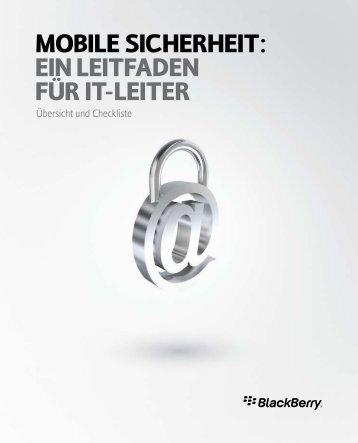 Mobile Sicherheit: ein leitfaden für it-leiter - wireless & mobile