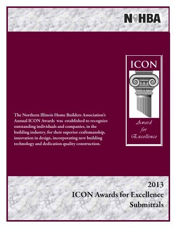 ICON AWARDS for Excellence Competition - Northern Illinois Home ...