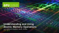 Understanding and Using Atomic Memory Operations