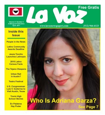 La Voz de Austin April 2011.pmd - La Voz Newspapers