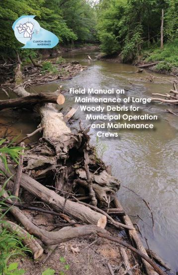 LWD Manual Final - Huron River Watershed Council