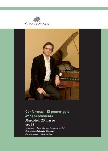Conferenza - Chivasso in Musica