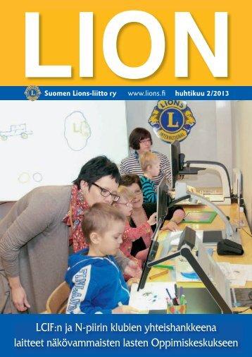 LCIF:n ja N-piirin klubien yhteishankkeena laitteet näkövammaisten ...