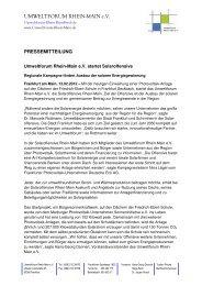 120210_Pressemitteilung Solaroffensive - Umweltforum Rhein-Main