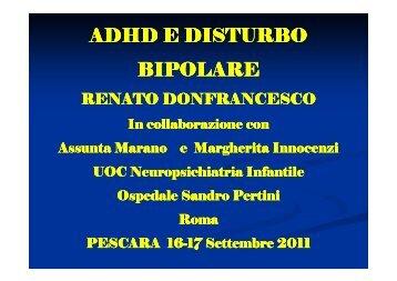 ADHD e Disturbo Bipolare - Donfrancesco R. - Aidai