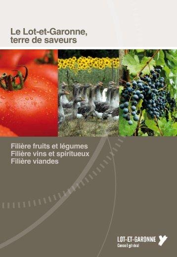 Le Lot-et-Garonne, terre de saveurs