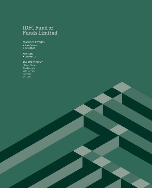 IdfC fund of funds Limited