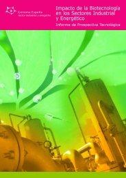 Impacto de la Biotecnología en los Sectores Industrial y ... - ICONO
