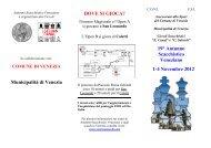 COME RAGGIUNGERE LA SEDE DI GIOCO - VeSuS!!!