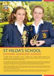 ST HILDA'S SCHOOL - Australian Boarding Schools International