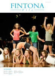 In thIs Issue - Fintona Girls' School