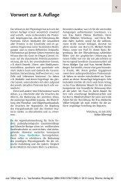 Vorwort - Georg Thieme Verlag