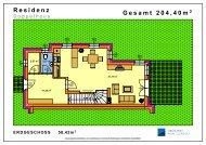Grundrisse DH Residenz - HYPO NOE Gruppe