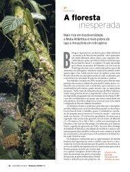 inesperada - Revista Pesquisa FAPESP