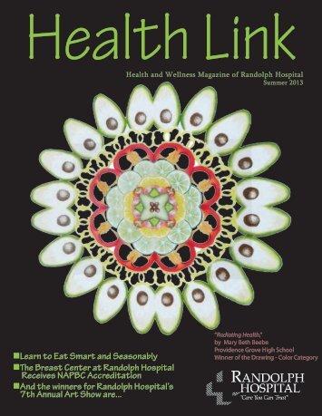 Summer 2013 Issue - Randolph Hospital