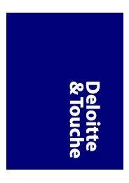 Deloitte & Touche, 18.12.2002 - wuestemann - Universität Mannheim