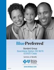 Plan 250 - Cornerstone Insurance Services