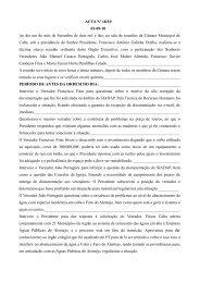 ACTA Nº 18/10 01-09-10 Ao dia um do mês de Setembro de dois mil ...