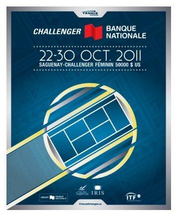 Brochure 2012 - Tennis Canada