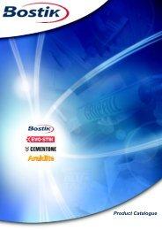 Bostik product catalogue