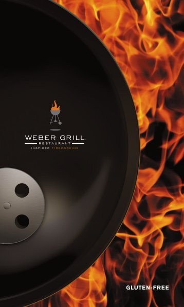 Weber Grill Lunch Menu - Weber Grill Restaurant
