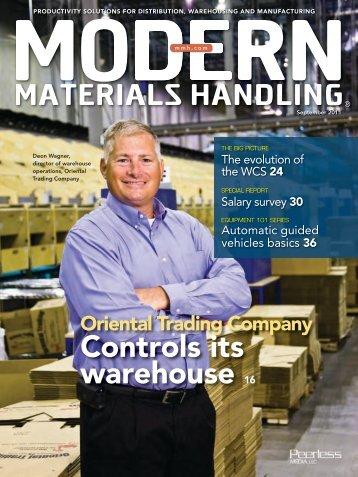 Modern Materials Handling - September 2011