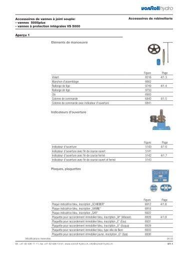 Vannes 5000plus - vonRoll hydro