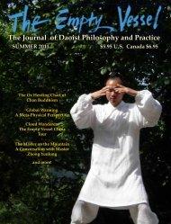The Journal of Daoist Philosophy and Practice - CommunityAwake