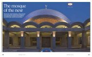 Istanbul's modern mosques - Rutherford Tomasetti Partners SARL