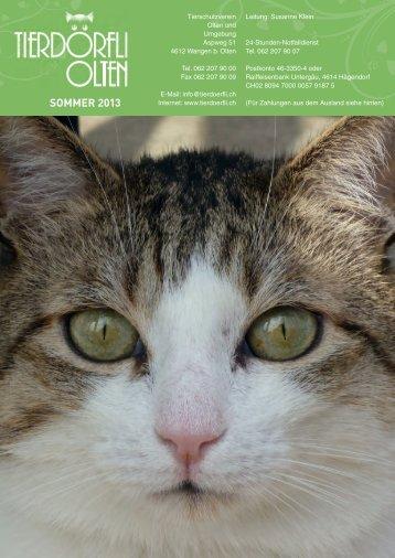 Sommermagazin 2013 - Tierdörfli