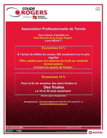APT Francais - Tennis Canada