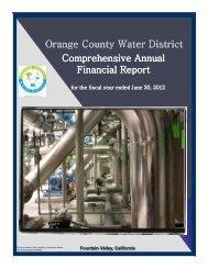 Comprehensive Comprehensive Annual Financial Report