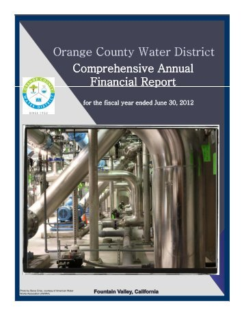 Comprehensive Comprehensive Annual Financial Report