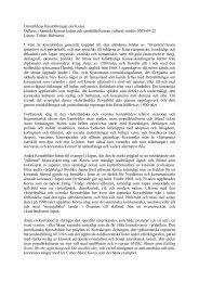 Omvärldens föreställningar om Korea Delkurs i ... - Tobias Hübinette