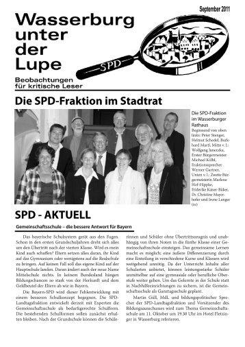 Lupe, September 2011 - SPD-Wasserburg