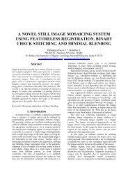 a novel still image mosaicing system using featureless registration ...