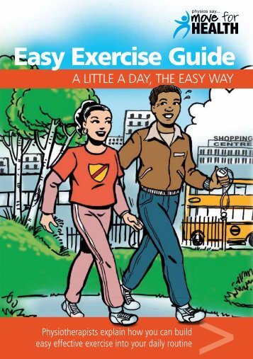 Easy Exercise Guide - The Chartered Society of Physiotherapy