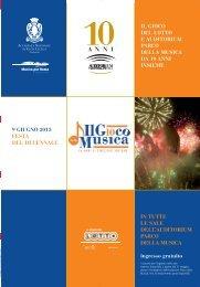 Programma - Auditorium Parco della Musica
