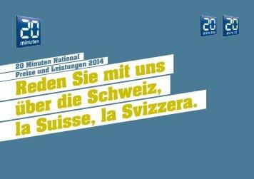 Reden Sie mit uns über die Schweiz, la Suisse, la ... - 20 Minuten
