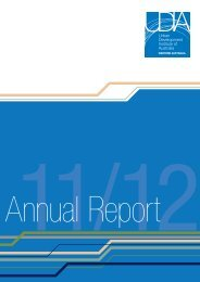 2011-12 Annual Report - Urban Development Institute of Australia