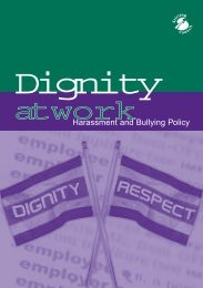 Dignity at Work - Stirling Council