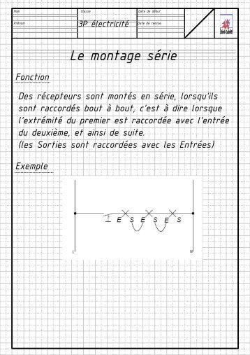 Visio-SA 0 série, parallèle, pc repré.vsd - Enseignons.be